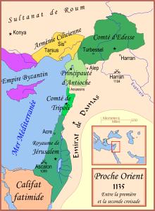 Royaume chrétien au 12 ème siècle