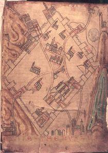 Jerusalem croises carte de Cambrai
