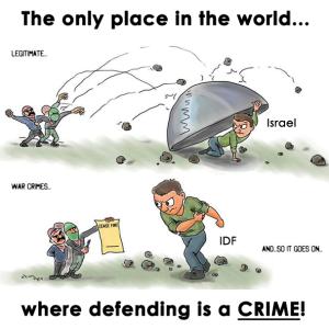 attaque du 'Hamas caricature