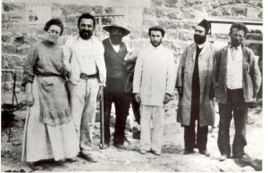 Sarah Melkin et ses camarades
