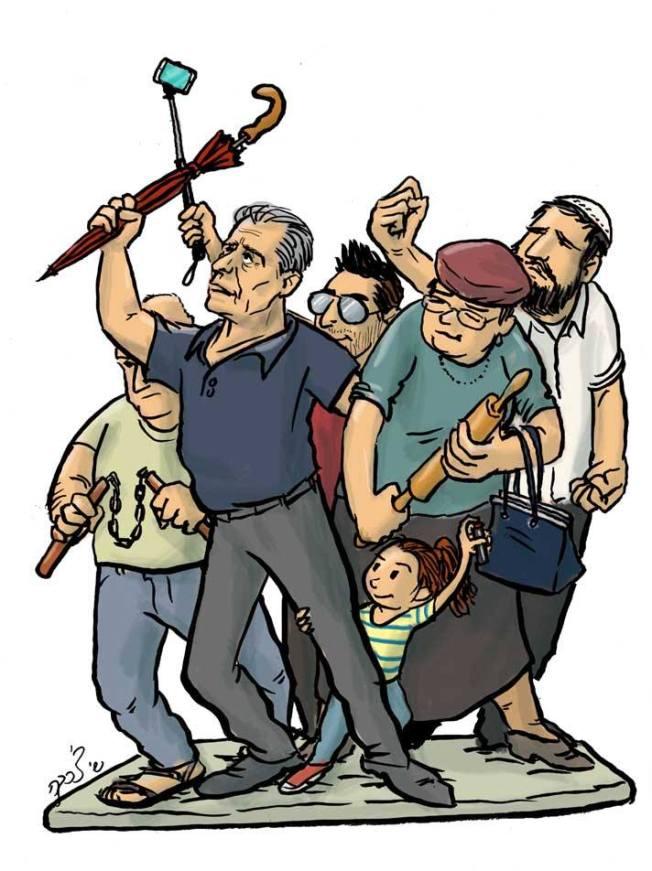caricature shai tsharka 2 2015